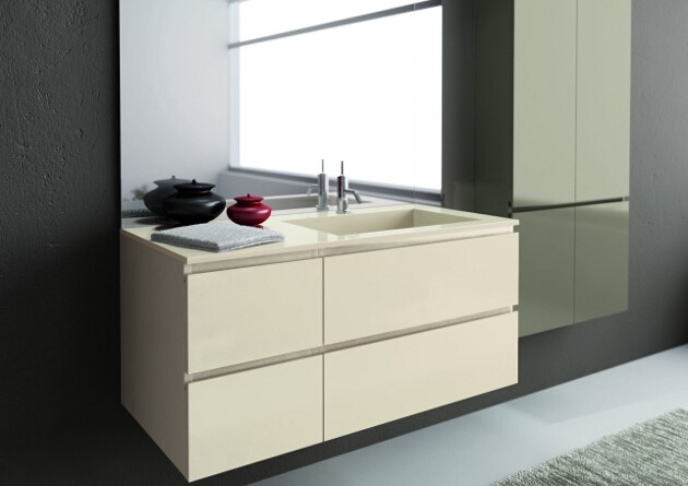 Mobile Bagno Verde Mela: LEGNOBAGNO Your bathroom furniture Italian design.