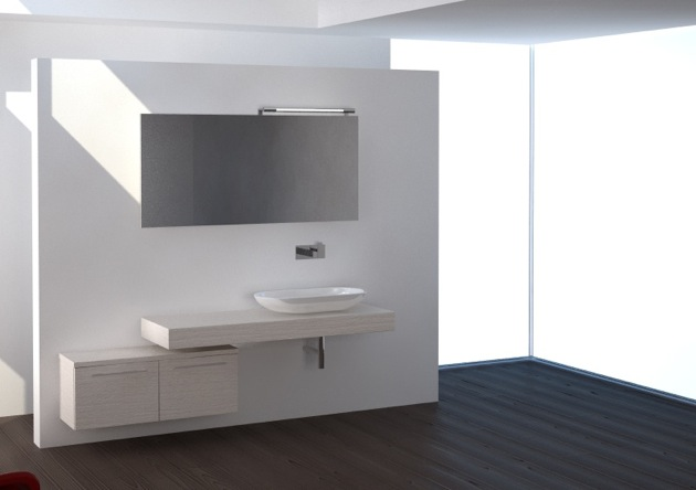 Ristrutturare bagno piccolo moderno - Progettare il bagno ...