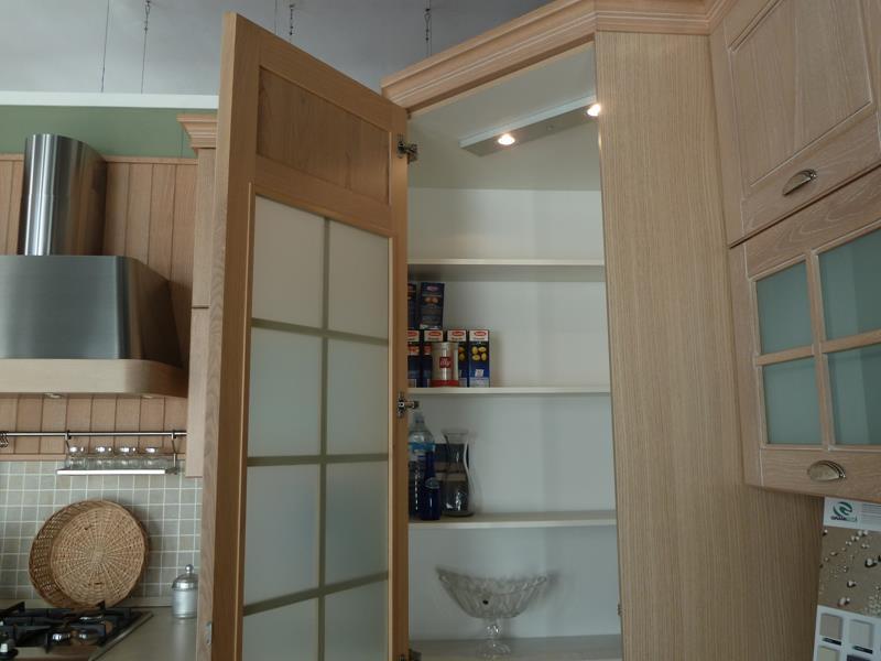 mobile dispensa angolare : Cucina Con Dispensa Ad Angolo: Cucina laccato bianco opaco rudy mobili ...